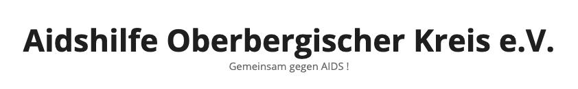 Aidshilfe Oberbergischer Kreis